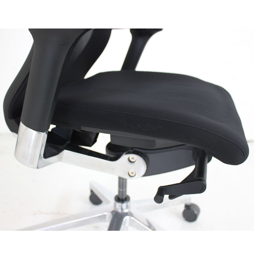 Black Sidiz T50 Operator Chair  computer chair with mesh